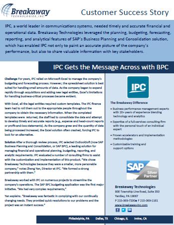 IPC Case Study