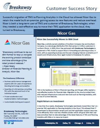 IBM CSS Nicor