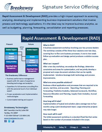 Rapid Assessment & Development